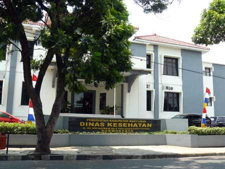 Kantor Dinas Kesehatan Purwokerto