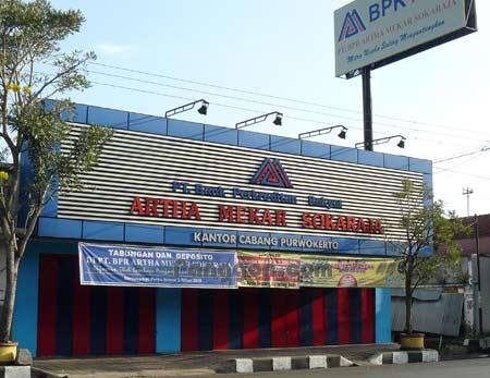 Bank BPR Artha Mekar Sokaraja Cabang Purwokerto
