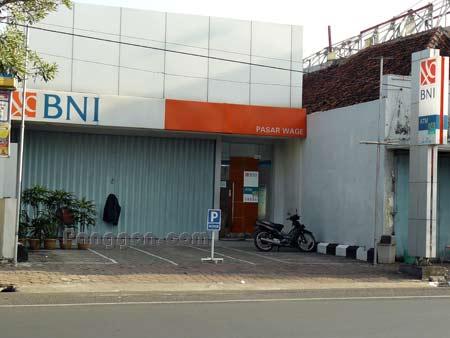 Bank BNI Pasar Wage Purwokerto