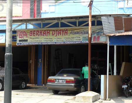 Toko Berkah Djaya Aluminium