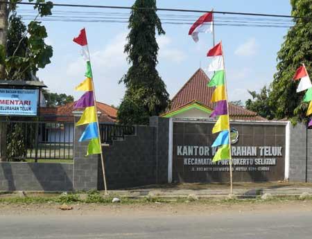 Kantor Kelurahan Teluk Purwokerto