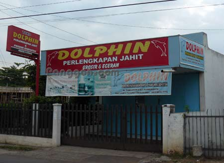 Toko Perlengkapan Jahit Dolphin Purwokerto