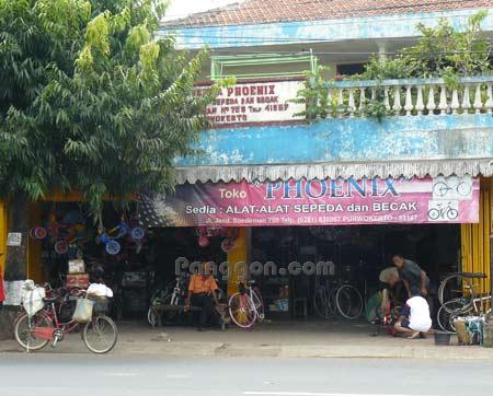 Alamat Telepon Toko Sepeda Phoenix Purwokerto