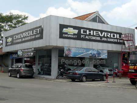 Showroom Mobil Chevrolet Purwokerto