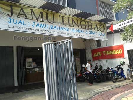 Toko Jamu Tingbao Purwokerto