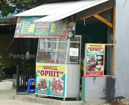 Warung Makan Lesehan OPHIT Teluk Purwokerto