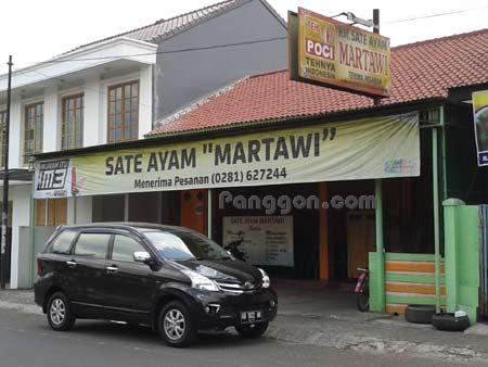 Sate Ayam Martawi Purwokerto