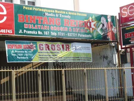 Toko Busana muslim Bintang Rejeki Purwokerto
