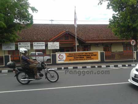 Kantor Perhutani Purwokerto KPH Banyumas Timur