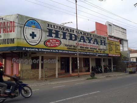 Rumah Sakit Umum RSU Hidayah Purwokerto