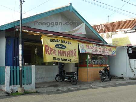 Rumah Makan Padang Raso Minang Purwokerto