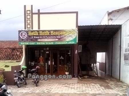 Butik Batik Banyumasan Purwokerto