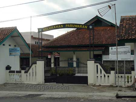 Kantor Kelurahan Pabuwaran Purwokerto