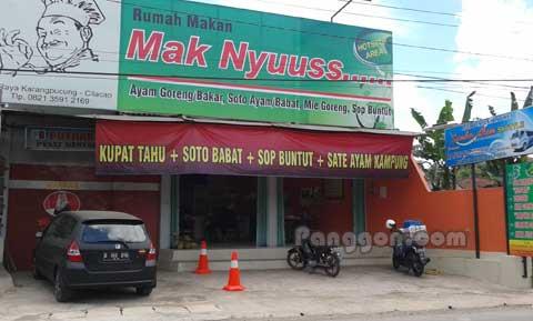 Rumah Makan Mak Nyuuss Karangpucung