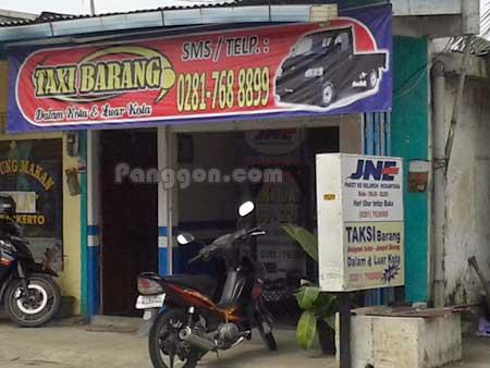 Taxi Barang dan Agen JNE Purwokerto