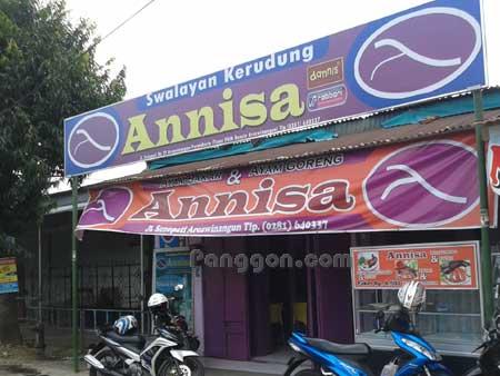 Swalayan Kerudung dan Rumah Makan Annisa Arcawinangun Purwokerto