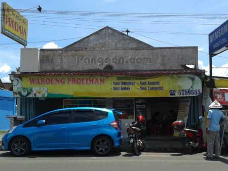 Rumah Makan Waroeng Proliman GOR