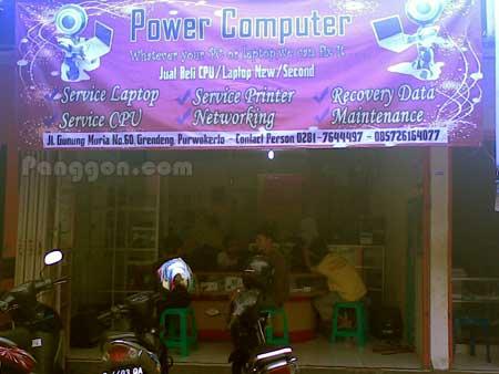 Toko Power Computer Grendeng Purwokerto