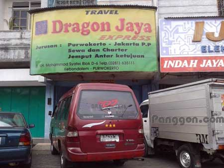 Travel Dragon Jaya Express Purwokerto
