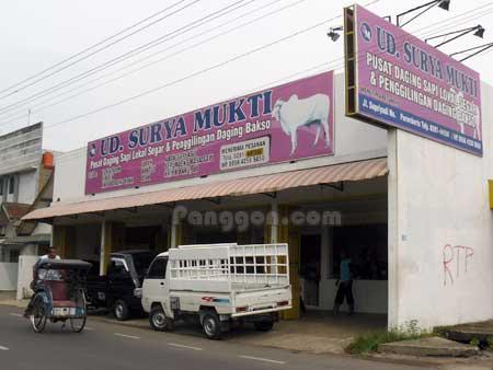 Pusat Daging Sapi UD. Surya Mukti Mersi Purwokerto