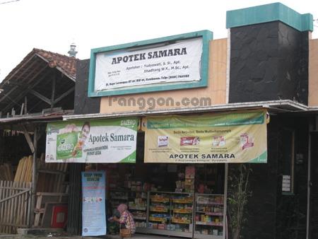 Alamat dan Telepon Apotek Samara
