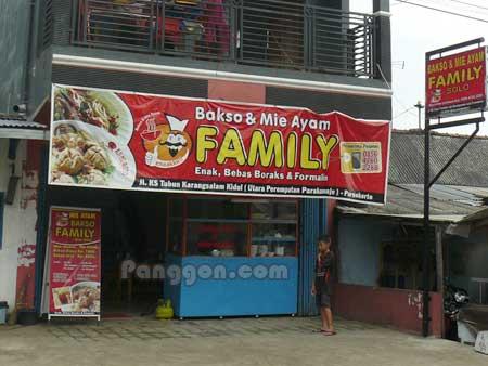Bakso & Mie Ayam FAMILY Karangsalam Purwokerto