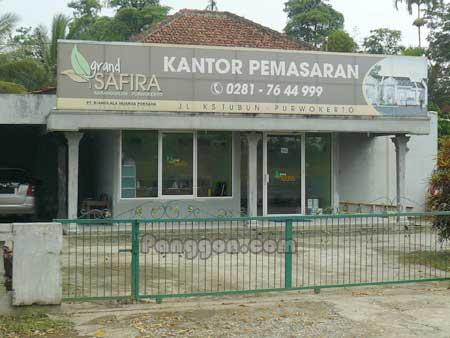 Kantor Pemasaran Grand Safira Karangsalam Purwokerto