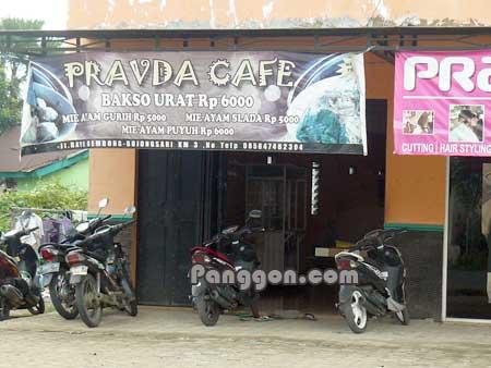 Pravda Cafe Bojongsari Purbalingga