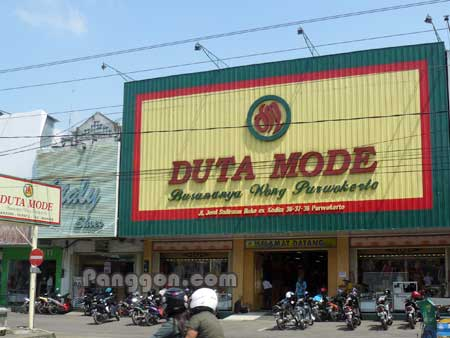 Pusat Fashion Duta Mode Purwokerto
