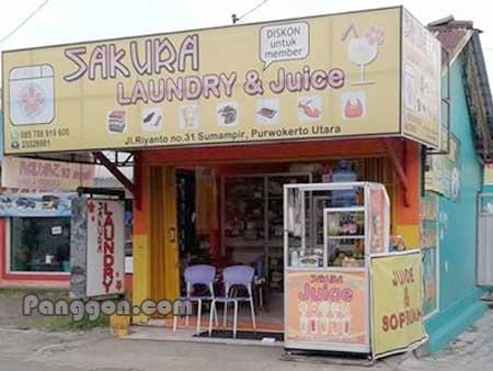SAKURA Laundry & Juice Sumampir Purwokerto