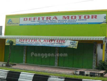 Showroom Mobil Defitra Motor Bobotsari