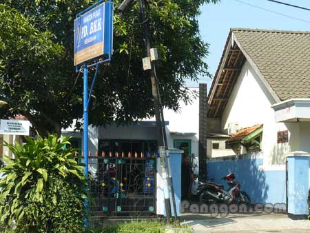Kantor Pusat PD. BKK Kesugihan Cilacap