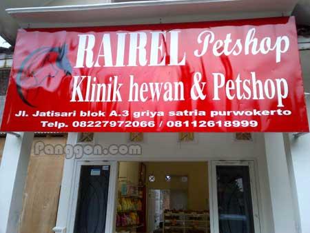 Petshop dan Klinik Hewan Rairel Purwokerto