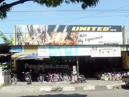 Alamat - Telepon - Toko Sepeda: TS. Agung - Cilacap - Jawa