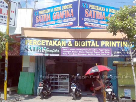 Percetakan & Digital Printing Satria Grafika Ajibarang