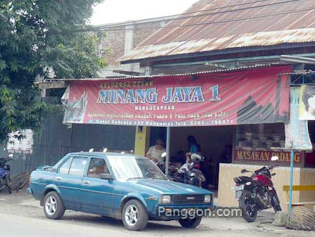 Rumah Makan Padang Minang Jaya 1 Banyumas