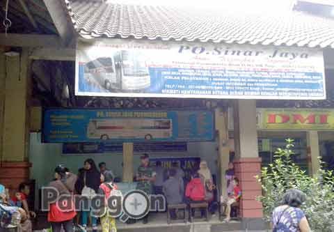 Agen Bus Sinar Jaya Terminal Purwokerto