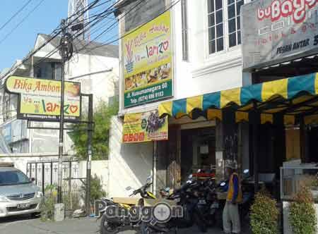 Bika Ambon Larizo Cake & Bakery Yogyakarta