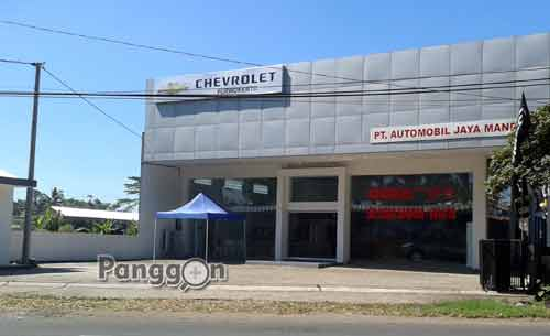 Showroom / Dealer Mobil Chevrolet Purwokerto