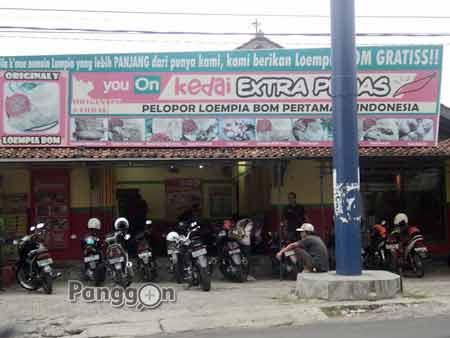 Kedai Extra Pedas Loempia Bom Purwokerto