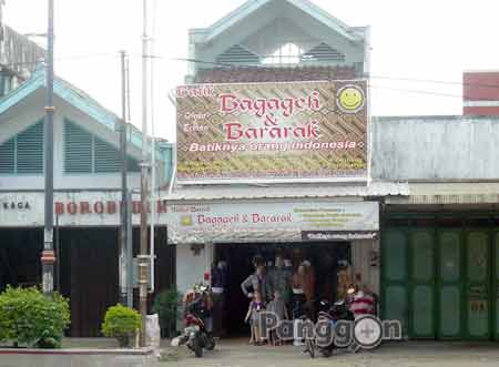 Toko Batik Bagageh & Bararak Purwokerto