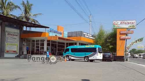 Kantor Perwakilan Bus Efisiensi Ambarketawang Jogja