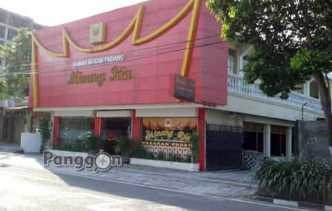 Alamat Telepon RM Padang Minang Ria Yogyakarta