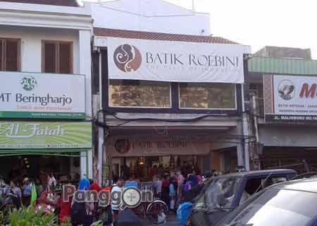 Toko Batik Roebini Yogyakarta