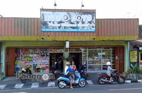 Toko Mainan IndoToys Yogyakarta