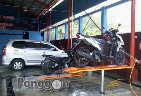 Bengkel Motor & Cuci Mobil 99 Service Shop - Rembang