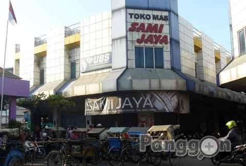 Toko Mas Sami Jaya Pasar Wage Purwokerto