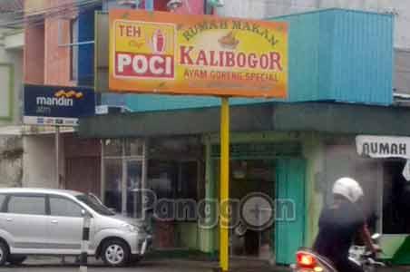 Rumah makan Kalibogor - Purwokerto