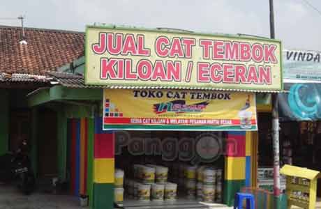 Toko Cat Sumber Warna Tambaksogra