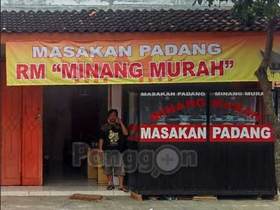 Rumah Makan Padang Minang Murah Purbalingga